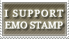 I SUPPORT EMO STAMP by Foxxie-Chan