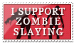I Support Zombie Slaying by Foxxie-Chan