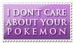 Pokemon - I don't care by Foxxie-Chan