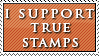 I Support: True Stamps by Foxxie-Chan
