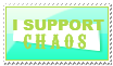 I Support Chaos by Foxxie-Chan