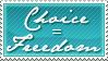 Choice - Freedom by Foxxie-Chan
