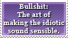 The Meaning of Bullshit by Foxxie-Chan