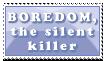 Boredom - The Silent Killer by Foxxie-Chan