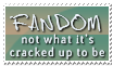 Fandom: Meh. by Foxxie-Chan
