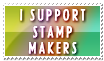 I Support Stamp Makers by Foxxie-Chan