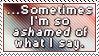 So Ashamed... by Foxxie-Chan