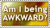 Awkward by Foxxie-Chan