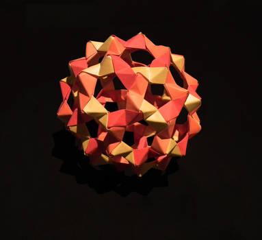 Modular origami – Polypompholyx | 350x383