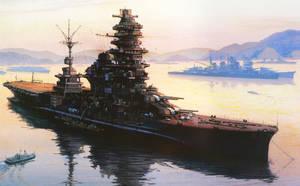 First Ever Battleship/Aircraft Carrier by bwan69