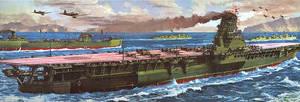 World War II's largest aircraft carrier