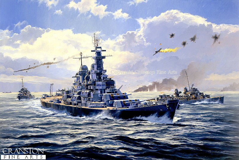 USS Missouri under attack by bwan69