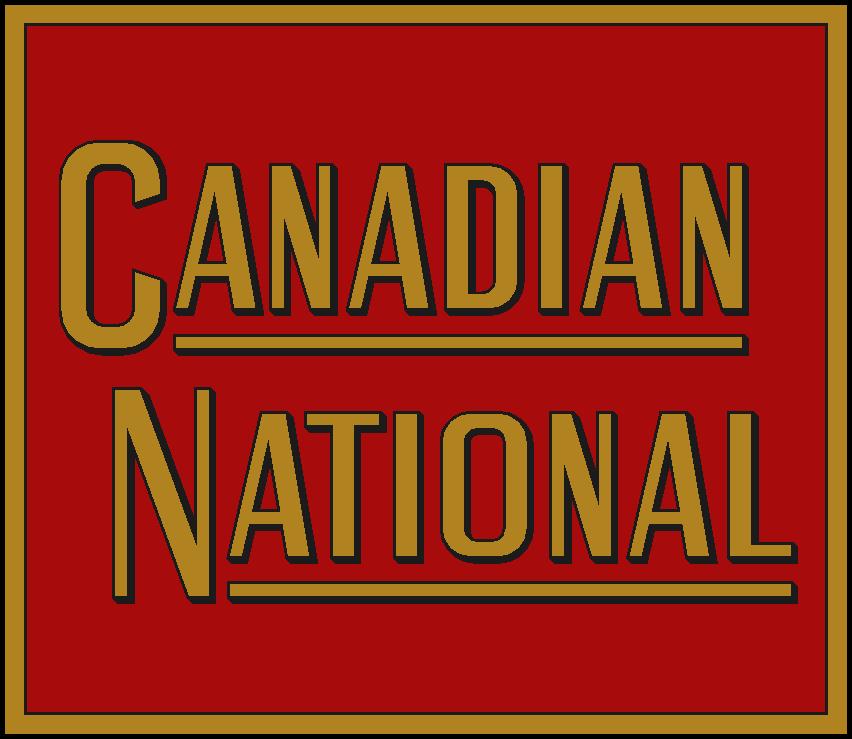 Canadian National Railway Steam Era Logo
