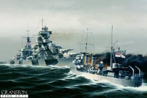 Attack on the Admiral Hipper by bwan69