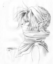 Sheik profile by Wictorian-Art