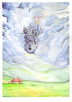 Howls moving Castle by Wictorian-Art