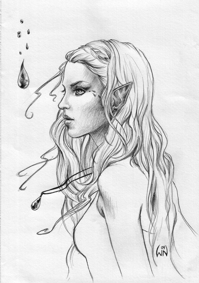 voe elf by wictorian art