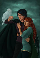 Harry and Ginny by Wictorian-Art