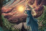 Comission: Alice in Wonderland