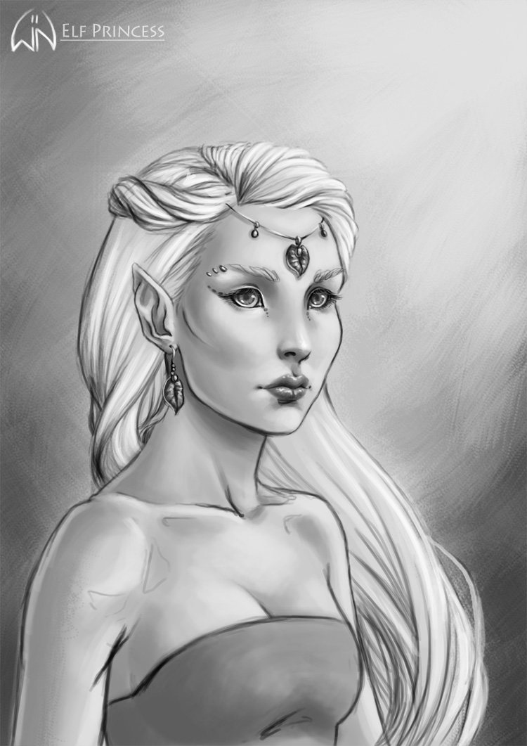 Elf Princess by Wictorian-Art