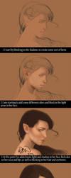 Process autumn elf by Wictorian-Art