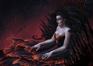 Poison Throne by Wictorian-Art