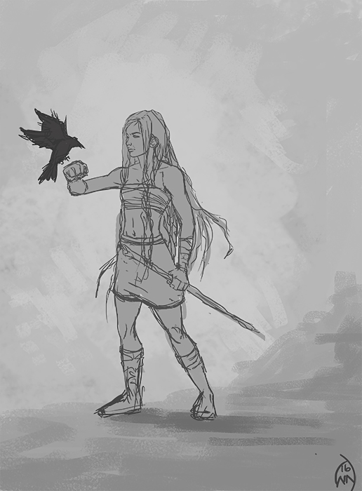 Hirka sketch by Wictorian-Art