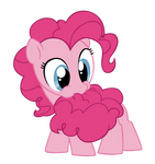 Filly Pinkie Pie Likes Cotton Candy Tails