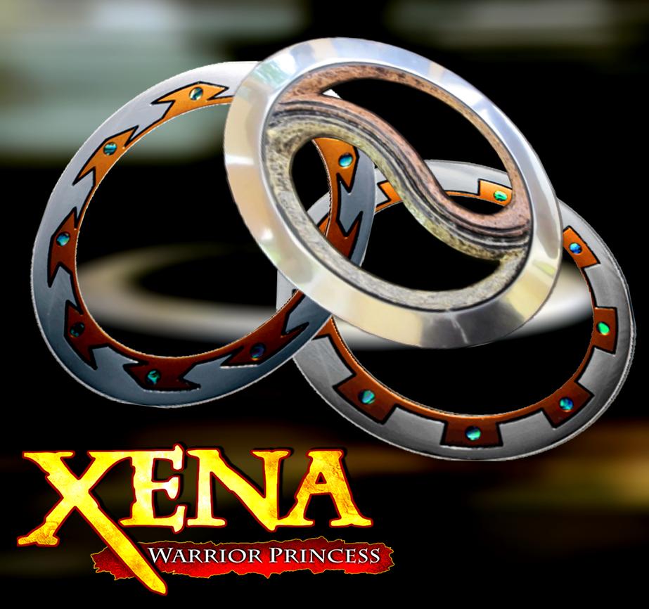 XENA WARRIOR PRINCESS: ALL CHAKRAM'S (XNALARA) by MrSmile078