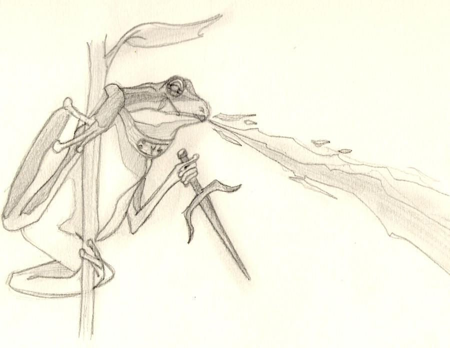 Frog-summon by Gaar-uto