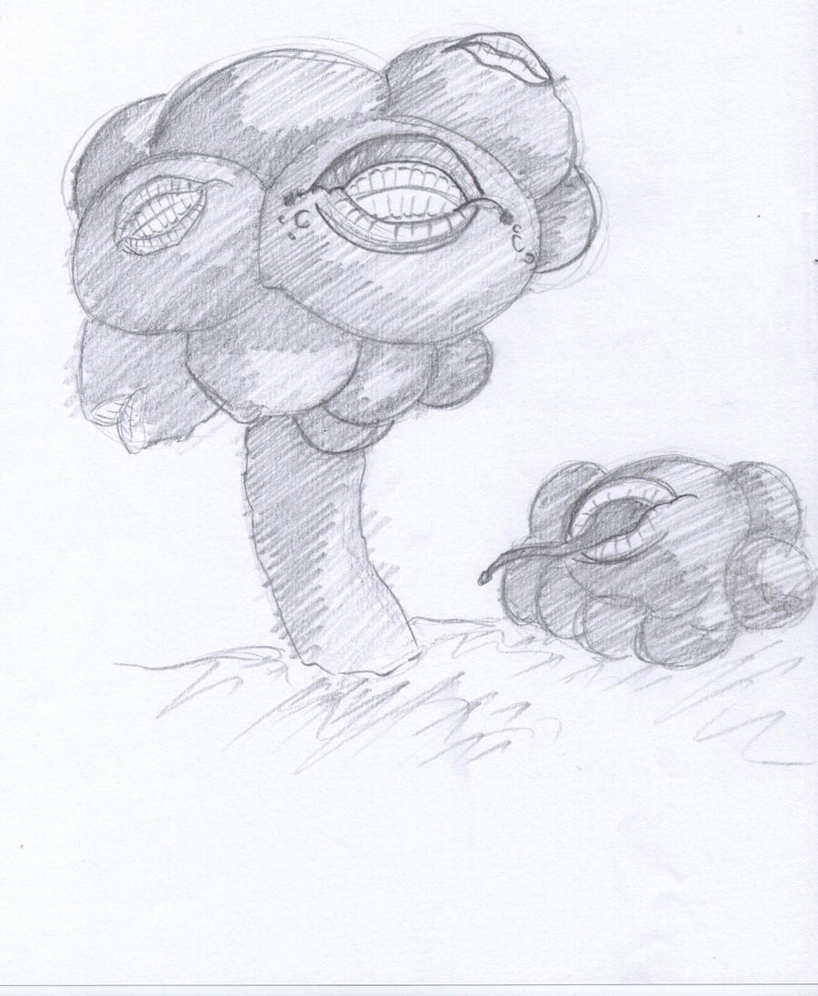 Masked Pomegranate by Gaar-uto