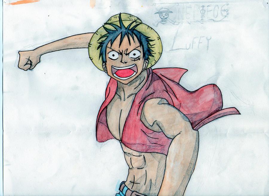Luffy by Gaar-uto