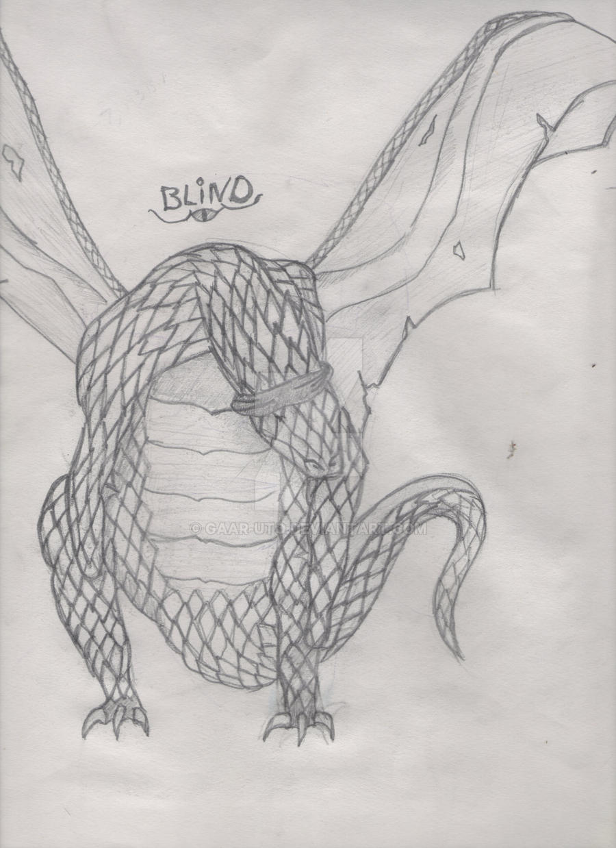 Blind Dragon by Gaar-uto