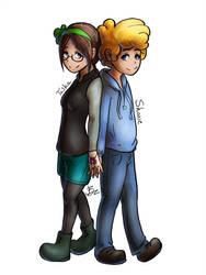 Shane and Tasha by BabKitt