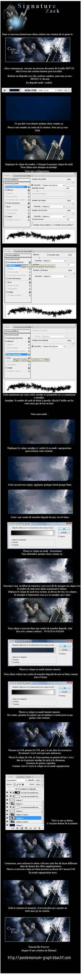 Tutoriel Debutant Photoshop -Zack- by Pandemonium-Graph
