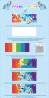 Photoshop Tutoriel -Rainobw Dash Vector _ by Pandemonium-Graph