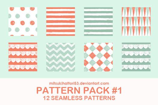 Pattern Pack #1: 12 SEAMLESS PATTERNS