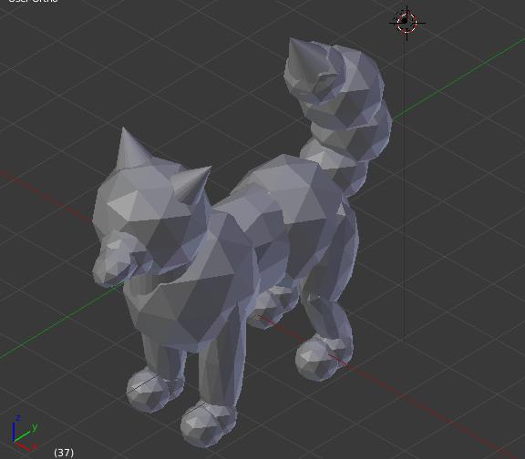 3D Fox moddle by Twimper