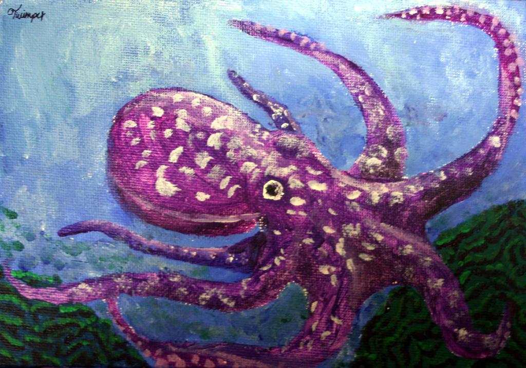 Shuffles octopus by Twimper