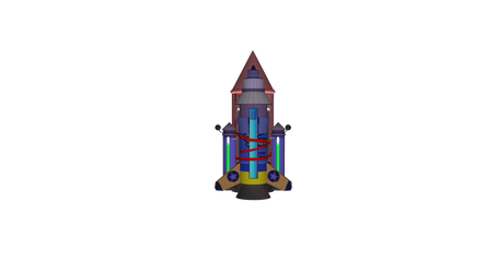 MicroVolts Makeshift Rocket by Smezz