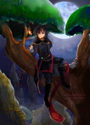 Heroes of Legend: Shade by LunarSkyes