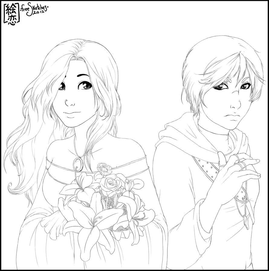 FS#2 Shisleya 4 Endorell-Taelos and PiccolaRia by Eeren