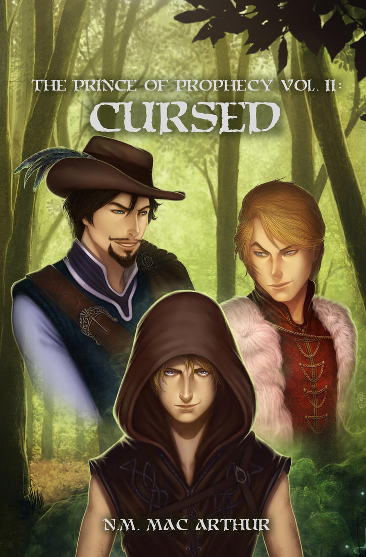 The Prince of Prophecy: Cursed - Book Cover by Eeren
