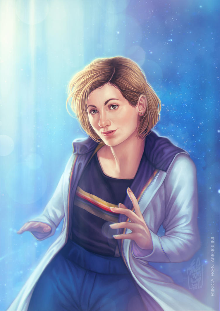 13th Doctor by Eeren