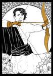 [Caelum Florescens] Sagittarius by Eeren