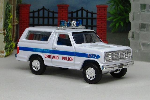1980 Ford Bronco Police