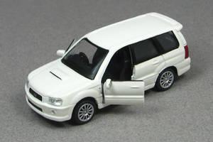 2004 Subaru Forester XT - white z - Konami