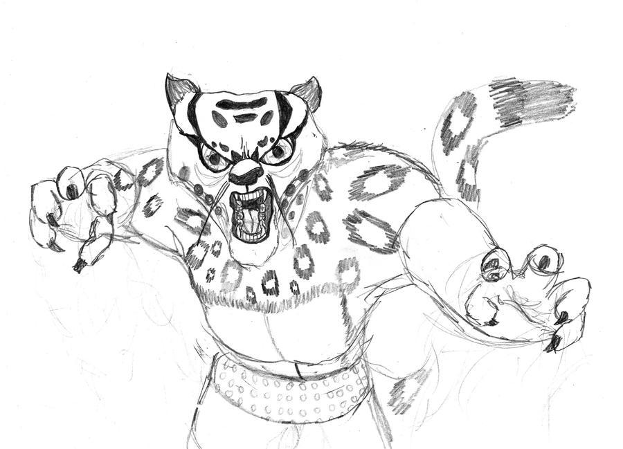 Kung Fu Panda Tai Lung Drawing - KFP: Tai Lung by tribute27 on ...