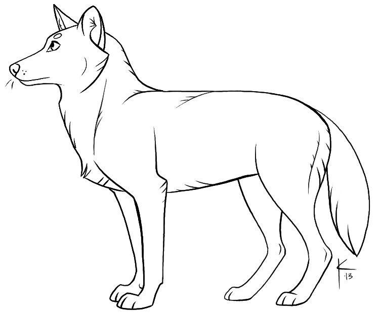 wolf template - Gecce.tackletarts.co