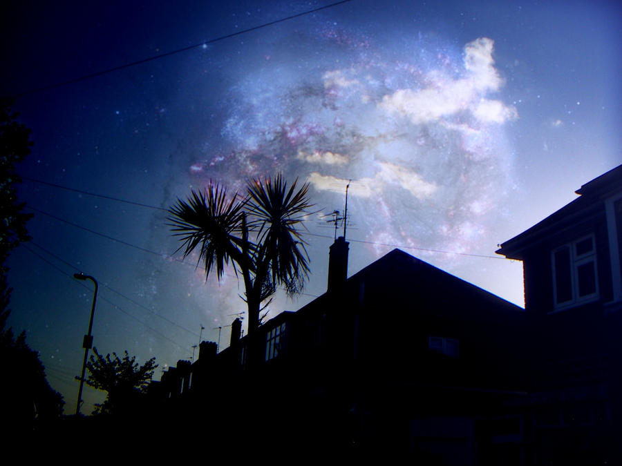 Sunset nebula by Courtcakes